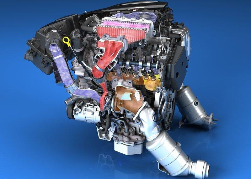 2016 Cadillac CT6 Engine Photo