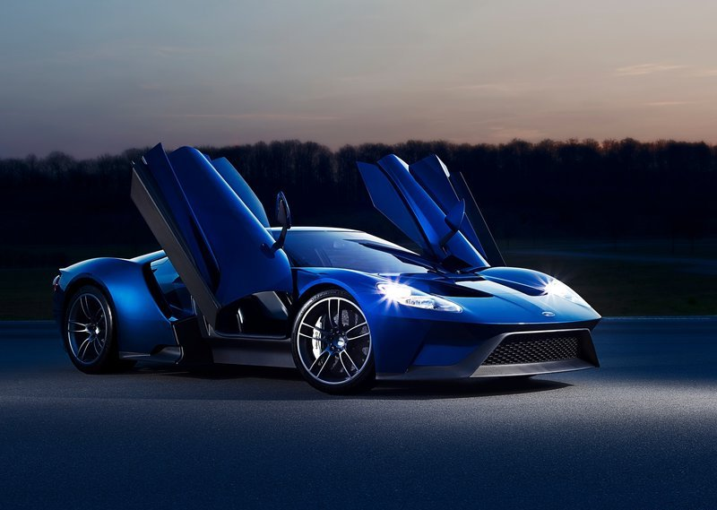 2017 Ford GT Doors Open Up