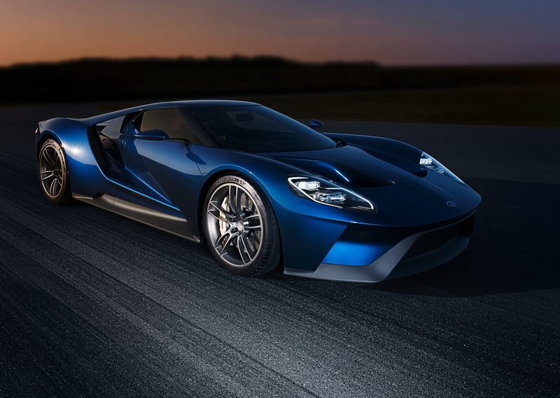 2017 Ford GT Front Angle View