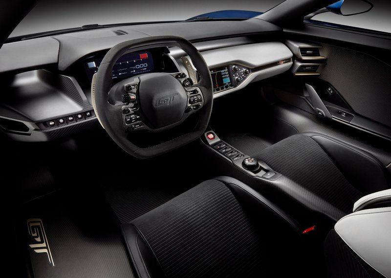 2017 Ford GT Interior GT-Style