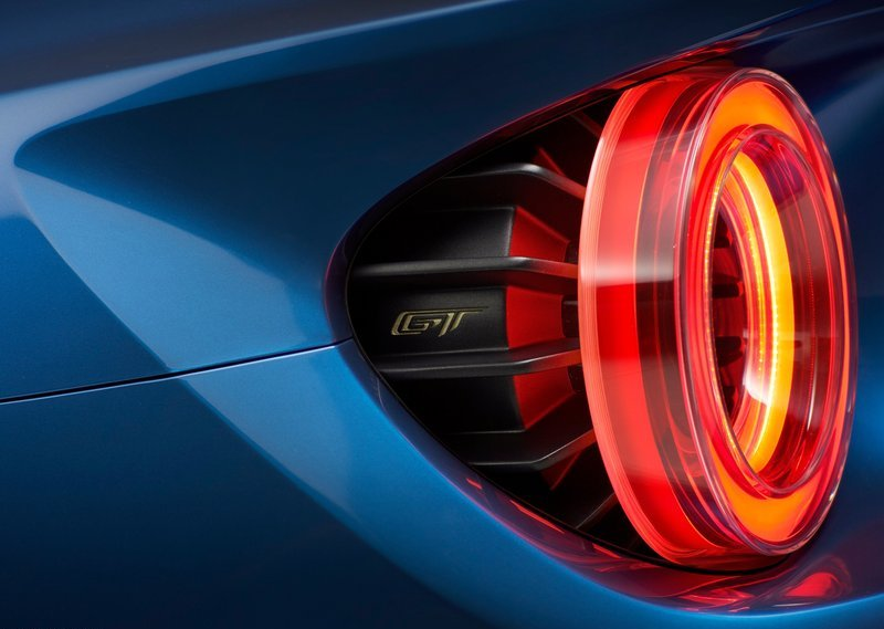 2017 Ford GT Tail Lamps Design