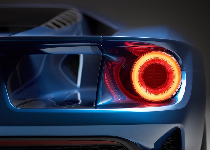 2017 Ford GT Tail Lamps