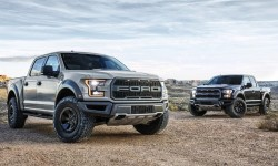 2017 Ford F-150 Raptor silver gray and black metallic