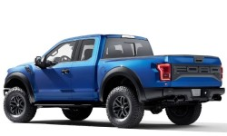 Ford F-150 Raptor 2017 - Rear Angle