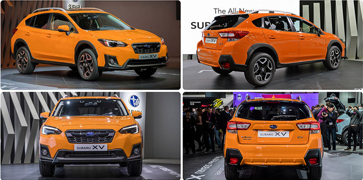 Subaru Crosstrek 2018 - фото, характеристики, цена новой модели Subaru