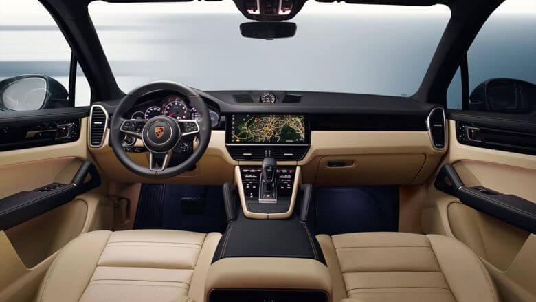 Porsche Cayenne 2018 года - фото, характеристики, цена новой модели Porsche